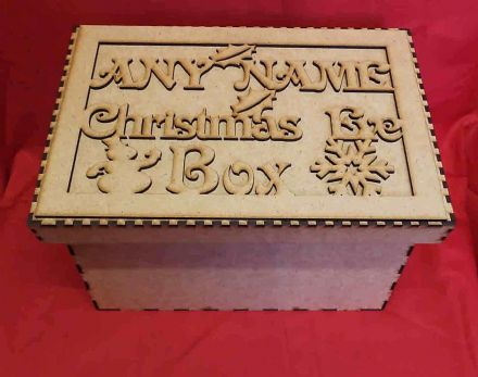 Personalised  Large Christmas Eve box, Gift Box xmas eve box (G2)